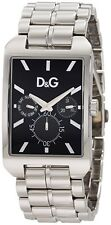 D&G Dolce and Gabbana Men's DW0636 COLORADO Multifunction Black Dial Watch
