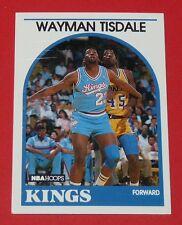 # 225 WAYMAN TISDALE KINGS SACRAMENTO 1989 NBA HOOPS BASKETBALL CARD