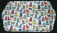 Excellent! Ulster Weavers Scatter Tray ~ Catwalk w/ Multi-Color Cat Pattern