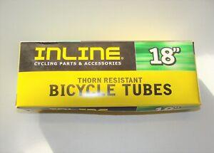 "~ New INLINE Kenda 18"" x 1.75"" - 2.125"" Thorn Resistant Bicycle Inner Tube ~"