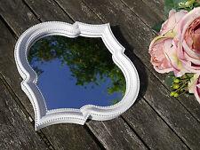 Un espejo de pared colgado Blanco 25cm X 25cm Estilo marroquí Baño Dormitorio