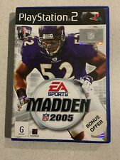 Madden 2005 Sony PlayStation 2 Console Game PAL PS2