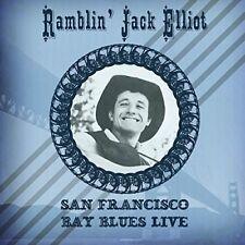 RAMBLIN' JACK ELLIOT – SAN FRANCISCO BAY BLUES LIVE AT KEYSTONE (NEW/SEALED) CD