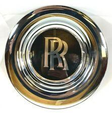 OEM Rolls Royce Ghost Wraith Dawn Complete Wheel Center Cap 6874324