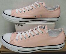 8e1b124ce69737 New Womens 11 Converse Chuck Taylor CTAS OX Vapor Pink Leather Shoes  60  557227C