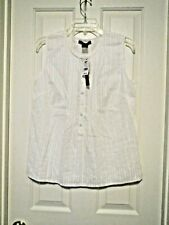 NWT Preswick & Moore/Med White Top #1477