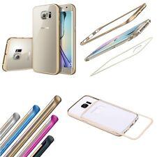 Cover Bumper Aluminum 2 IN 1+ Retro Clear for Samsung Galaxy S7 Edge