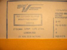 """2"""" inch Velcro Hook and Loop sew on NEW YELLOW or RED smoke free Genuine Velcro"""