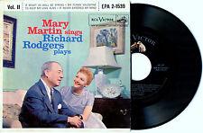 Mary Martin Sings Richard Rogers Plays Vol. II (EPA 2-1539 RCA Victor)