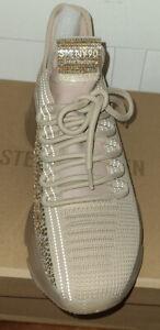 Steve Madden MAXIMA Womens Blush Multi Rhinestone Sneakers Shoes Size  9 NEW
