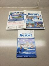 NO GAME Wii sports Resort original case and Manual ONLY NO GAME INCLUDED