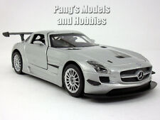 Mercedes-Benz SLS AMG GT3 1/24 Scale Diecast Model by Motormax - SILVER
