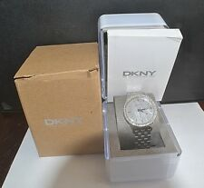 DKNY NY4756 MOTHER OF PEARL WOMEN WATCH WITH ORIGINAL BOX AND MANUAL
