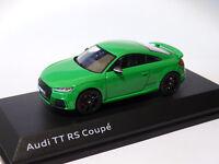 Audi TT RS coupé 2017  type 8S au 1/43 de iScale