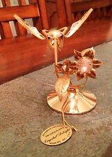 Crystal Delight 24K Gold Plated Australian Crystal Hummingbird - Mascot Inc