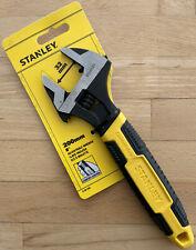 "Stanley adjustable Spanner Wrench 8"" 200MM 32mm Jaws Improved Model 0-90-948"