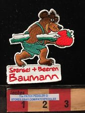 GERMANY BEAR PATCH Spargel Beeren Baumann Asparagus & Berries Geislhoring 62K4