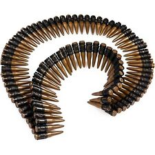 Adult Army Soldier Rambo Ammunition Bullet Belt Fancy Dress Accessory Unisex