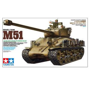 Tamiya 35323 Israeli M51 Tank Plastic Model Kit Military Scale 1:35 Length 257mm