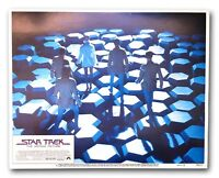 """""""STAR TREK MOTION PICTURE"""" ORIGINAL 11X14 AUTHENTIC LOBBY CARD POSTER 1979 #4"""