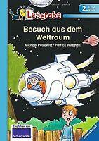 Leserabe - 2. Lesestufe: Besuch aus dem Weltraum von Pet... | Buch | Zustand gut