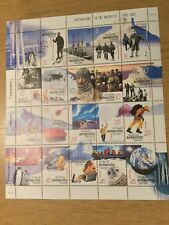 Australian Antarctic Territory 2001 Exploration Centenary sheet Mnh Value $25