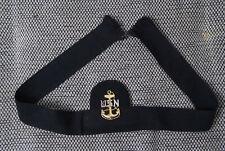 Mützenband USN Marine Schirmmütze bnehmbares Schirmmützenband