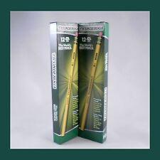 Dixon Ticonderoga HB #2 Wood Writing Best Pencil Office School Eraser 24 Count
