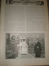 Printed play photo E M Holland as Pope Pius X in The Eternal City 1902 ref Z