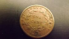 STRAITS SETTLEMENT  CENT 1845 NO 1