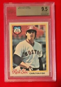 Carlton Fisk 1978 O-PEE-CHEE BGS 9.5 GEM Red Sox HOF! POP 4!