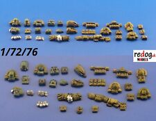 1:72 Military Backpacks Scale Modelling Diorama  Accessories Detailing kit