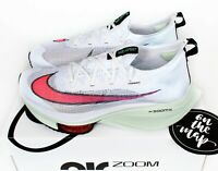 Nike Air Zoom Alphafly Next% White Crimson Red Jade Aura UK 5 8 9 10 11 12 13 US