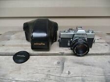 MINOLTA SRT-101 With 50mm f1.7 Minolta Rokkor Lens Tested