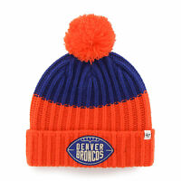 NFL Denver Broncos Cable Knit Vintage Gridiron Founder Knit Hat by '47