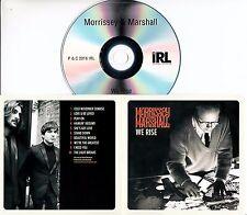 MORRISSEY AND MARSHALL We Rise 2016 UK 10-trk promo test CD
