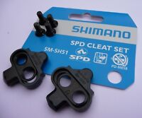 CLEATS Shimano SM-SH51 MTB Bike Single Release SPD Pedals Clipless