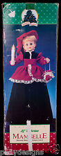 """Holiday Classic Mamselle 27"""" Victorian Woman Animated Music Motionette SEE VIDEO"""