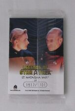 LEGENDS OF STAR TREK LT. NATASHA YAR 9 CARD SET BY RITTENHOUSE