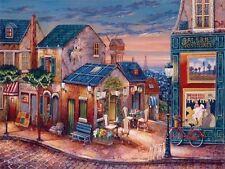 John O'Brien Galerie Montmartre Keilrahmen-Bild 45x60 Strassenszene Idylle Paris