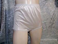 Vintage Wrangler 1970's White Shiny Nylon brief Panties new old stock size 7