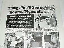 1938 Plymouth ad, 6 photos, Chrysler 4-door