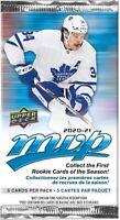 2020-21 Upper Deck MVP Hockey Booster Pack Buy | 5 & get 1 free | preorder