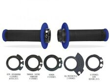 Pro Grips Diamond Lock on Grips Yamaha YZ125 YZ250 Honda CR125 CR250 CR Blue blk