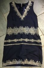 French Connection Midnight Moscow Dress BNWT Designer Womens Clothing