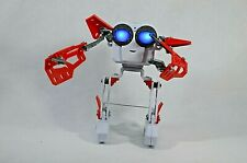 Meccano Micronoid Red socket robot building set 123 pieces Used Works Fast Ship