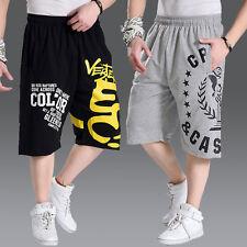 Плюс размер мужские свободные шорты для бега брюки спорт бегун тренировочные брюки короткие
