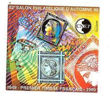 BLOC CNEP N° 28 SALON  D'AUTOMNE PARIS 1998
