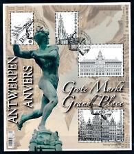 [BF50001] Belgique 2014 - BL219 Obl - Grand Place - Bloc Feuillet Oblitéré