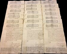 OLD SPANISH DOCUMENT 1822